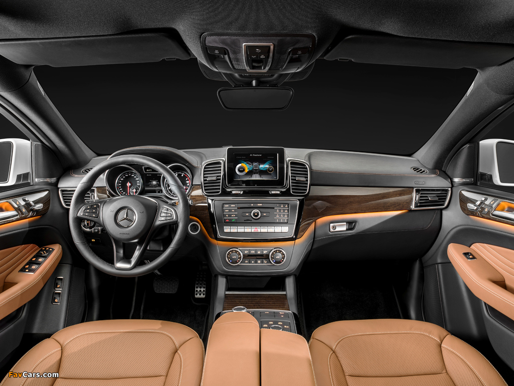 Mercedes-Benz GLE 400 4MATIC Coupé (C292) 2015 pictures (1024 x 768)