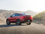 Photos of Mercedes-Benz GLE 450 AMG 4MATIC Coupé US-spec 2015