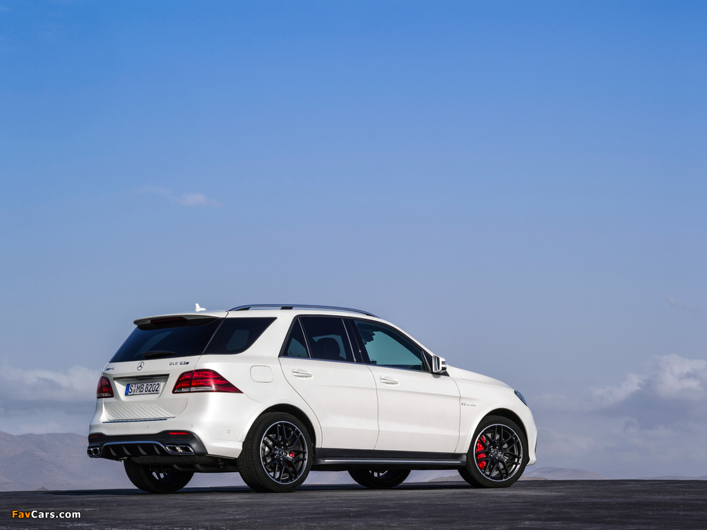Pictures of Mercedes-AMG GLE 63 S 4MATIC (W166) 2015 (1024 x 768)