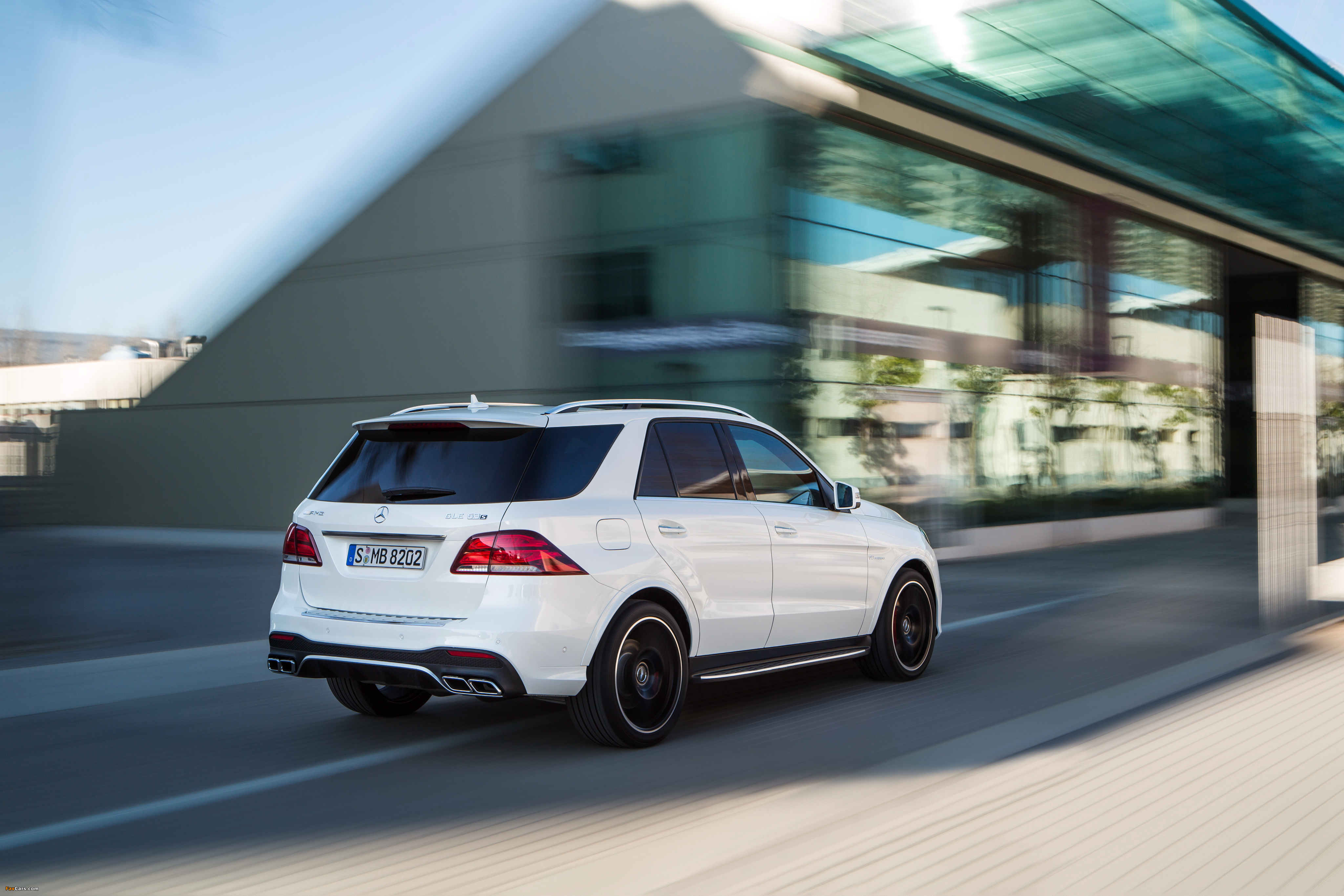 Mercedes-AMG GLE 63 S 4MATIC (W166) 2015 wallpapers (4096 x 2731)