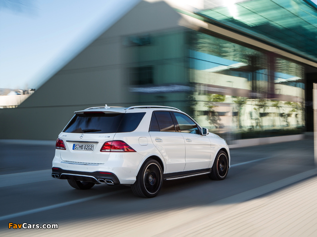 Mercedes-AMG GLE 63 S 4MATIC (W166) 2015 wallpapers (640 x 480)