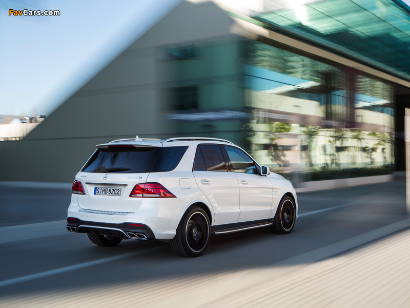 Mercedes-AMG GLE 63 S 4MATIC (W166) 2015 wallpapers (800 x 600)