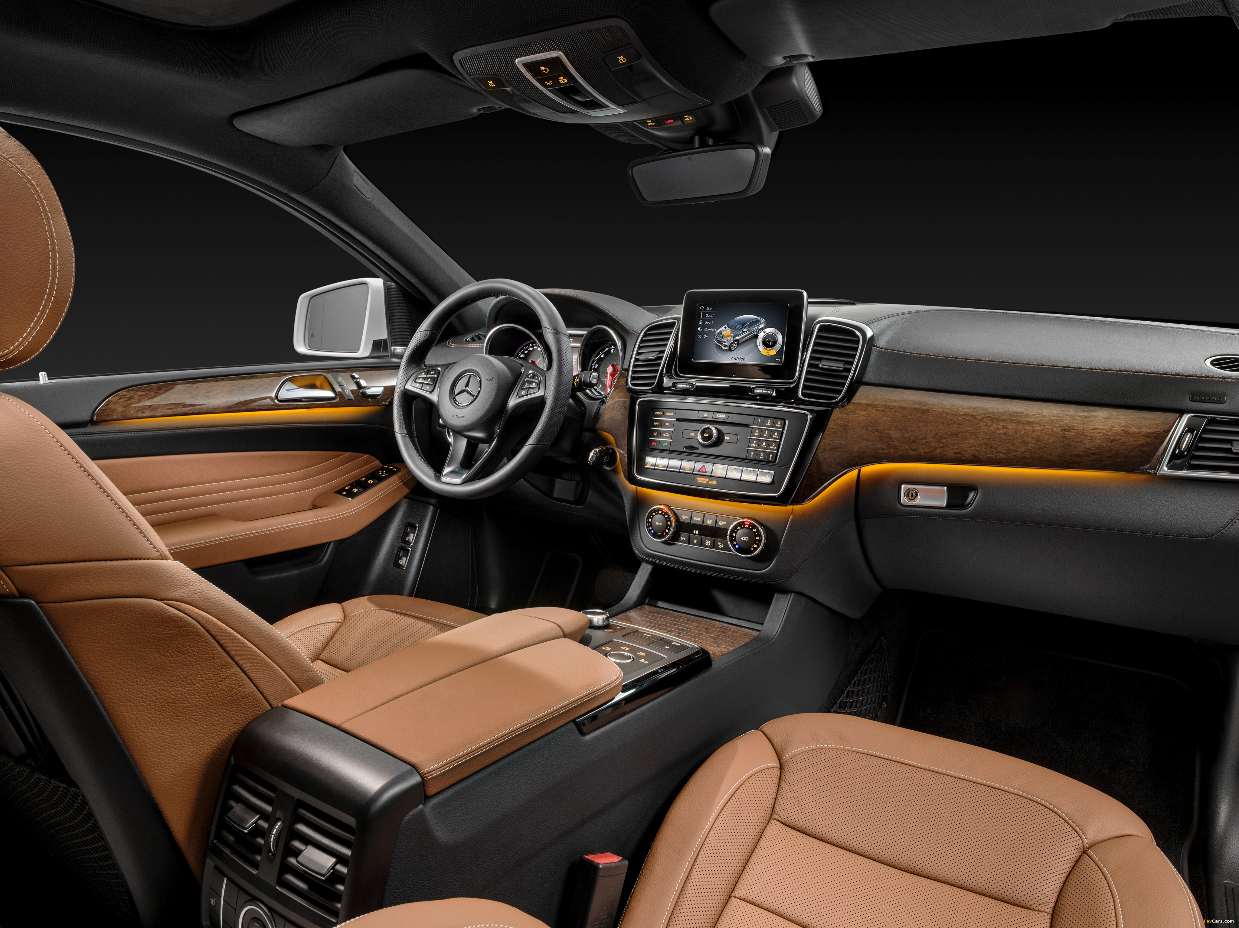 Mercedes-Benz GLE 400 4MATIC Coupé (C292) 2015 wallpapers (4096 x 3070)