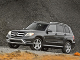Mercedes-Benz GLK 250 BlueTec AMG Styling Package US-spec (X204) 2012 wallpapers