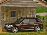 Mercedes-Benz GLK 350 US-spec (X204) 2012 wallpapers