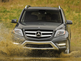 Photos of Mercedes-Benz GLK 250 BlueTec AMG Styling Package US-spec (X204) 2012