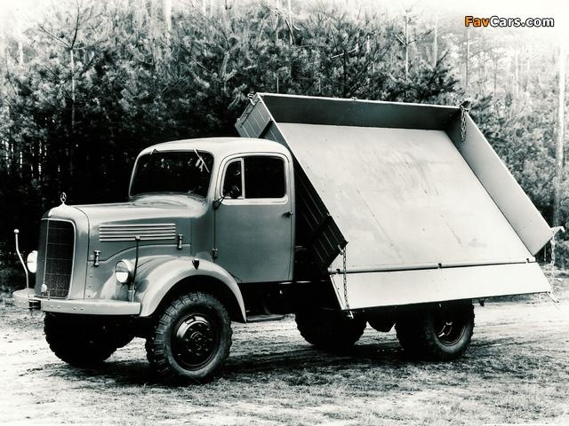 Mercedes-Benz LAK4500 1955– images (640 x 480)