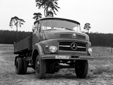 Mercedes-Benz LAK322 1961 photos