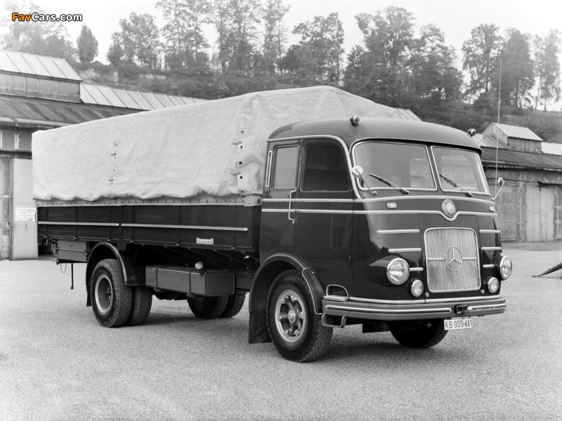 Mercedes-Benz LP315 1956 wallpapers (800 x 600)