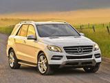 Images of Mercedes-Benz ML 350 BlueTec US-spec (W166) 2011