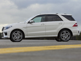 Images of Mercedes-Benz ML 63 AMG (W166) 2012
