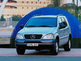 Mercedes-Benz M-Klasse (W163) 1997–2001 images