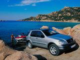 Mercedes-Benz M-Klasse (W163) 1997–2001 pictures