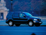 Mercedes-Benz ML 230 (W163) 1997–2001 wallpapers
