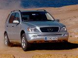 Mercedes-Benz ML 500 (W163) 2001–05 wallpapers