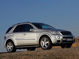 Mercedes-Benz ML 63 AMG (W164) 2006–08 wallpapers