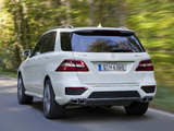 Mercedes-Benz ML 63 AMG (W166) 2012 images