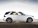 Mercedes-Benz ML 350 BlueTec AMG Sports Package UK-spec (W166) 2012 pictures