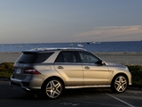 Mercedes-Benz ML 63 AMG (W166) 2012 wallpapers