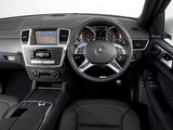 Mercedes-Benz ML 350 BlueTec AMG Sports Package UK-spec (W166) 2012 wallpapers