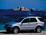 Photos of Mercedes-Benz M-Klasse (W163) 1997–2001