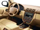 Photos of Mercedes-Benz M-Klasse (W163) 1997–2001