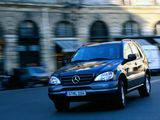 Photos of Mercedes-Benz ML 230 (W163) 1997–2001