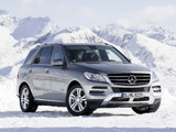 Photos of Mercedes-Benz ML 350 BlueTec (W166) 2011