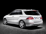 Photos of Mercedes-Benz ML 350 BlueTec AMG Sports Package Edition 1 (W166) 2011