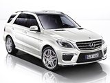 Photos of Mercedes-Benz ML 63 AMG (W166) 2012