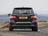 Photos of Mercedes-Benz ML 63 AMG UK-spec (W166) 2012