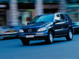 Pictures of Mercedes-Benz ML 230 (W163) 1997–2001