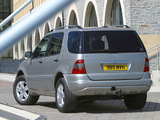 Pictures of Mercedes-Benz ML 350 UK-spec (W163) 2001–05