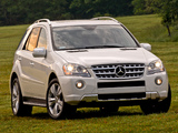 Pictures of Mercedes-Benz ML 550 (W164) 2008–11