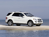 Pictures of Mercedes-Benz ML 320 BlueTec (W164) 2008–11