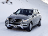 Pictures of Mercedes-Benz ML 350 BlueTec (W166) 2011