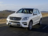 Pictures of Mercedes-Benz ML 250 BlueTec AMG Sports Package (W166) 2011
