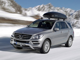 Mercedes-Benz ML 350 BlueTec (W166) 2011 wallpapers