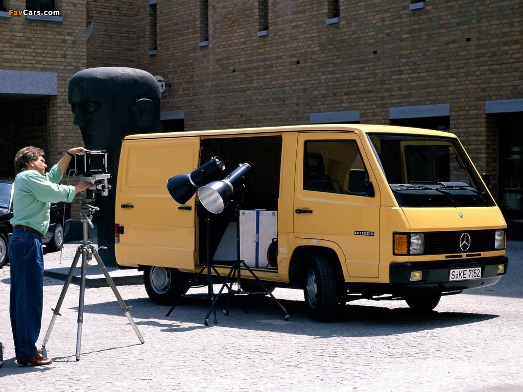 Mercedes-Benz MB 100 Van 1988–92 wallpapers (1024 x 768)