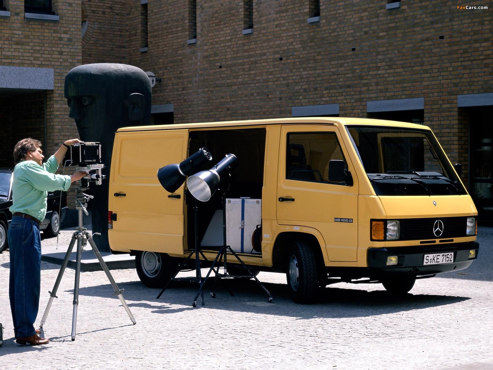 Mercedes-Benz MB 100 Van 1988–92 wallpapers (1600 x 1200)