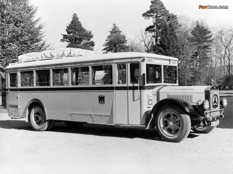 Pictures of Mercedes-Benz O4000 1934–38 (800 x 600)