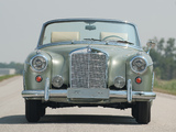 Images of Mercedes-Benz 220 SE Cabrio (W128) 1958–60