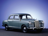 Mercedes-Benz E-Klasse (W120/121) 1953–62 pictures