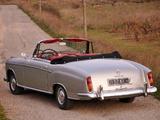 Mercedes-Benz 220 SE Cabrio (W128) 1958–60 photos