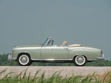 Mercedes-Benz 220 SE Cabrio (W128) 1958–60 wallpapers