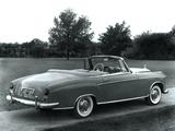 Photos of Mercedes-Benz S-Klasse Cabriolet (W180/128) 1956–60