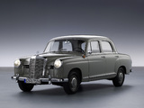Pictures of Mercedes-Benz E-Klasse (W120/121) 1953–62
