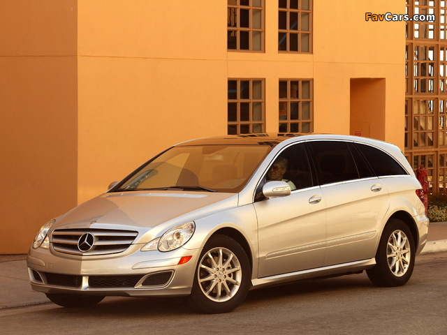 Mercedes-Benz R 350 US-spec (W251) 2005–08 pictures (640 x 480)