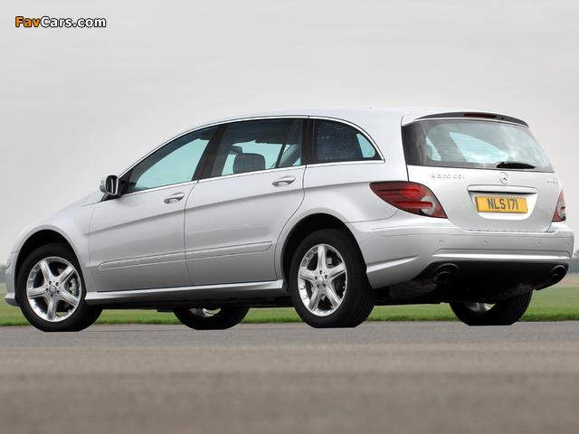 Mercedes-Benz R 320 CDI 4MATIC UK-spec (W251) 2006–10 wallpapers (640 x 480)