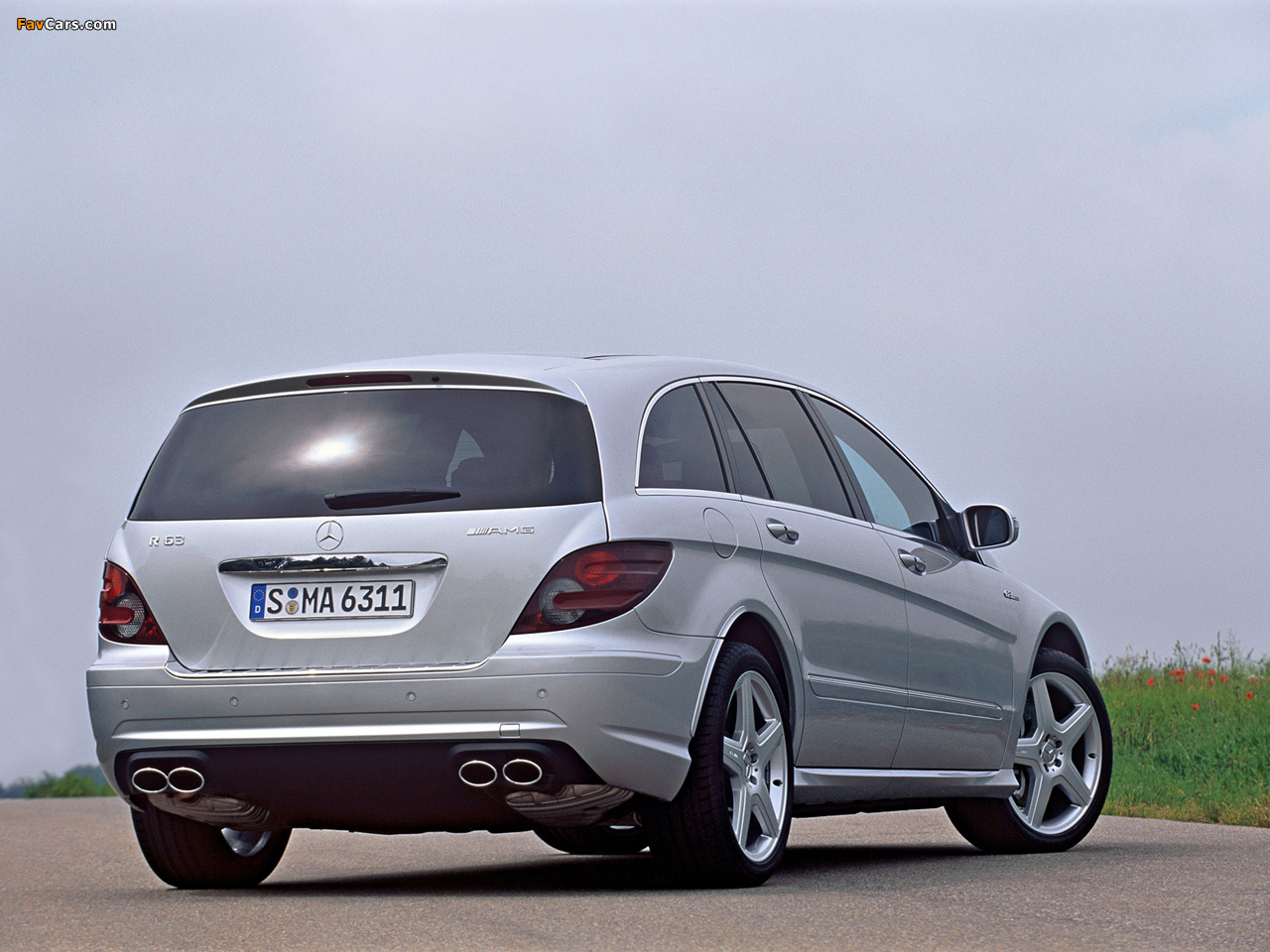 Mercedes-Benz R 63 AMG (W251) 2007–10 wallpapers (1280 x 960)
